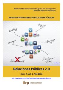 Revista internacional de relaciones Publicas